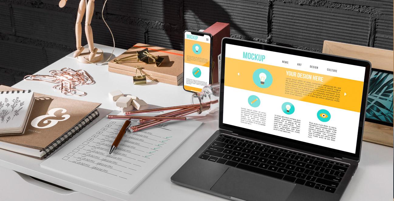 modern weboldal készítés